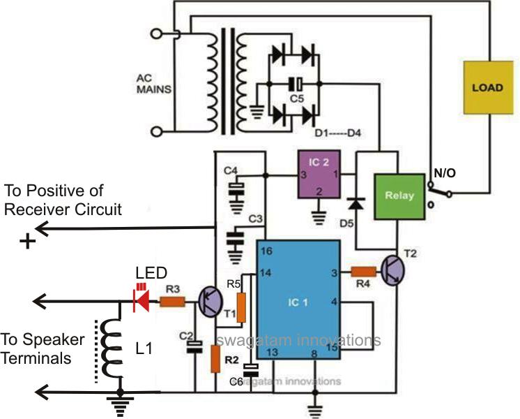 radio control circuit diagram  juanribon, circuit diagram