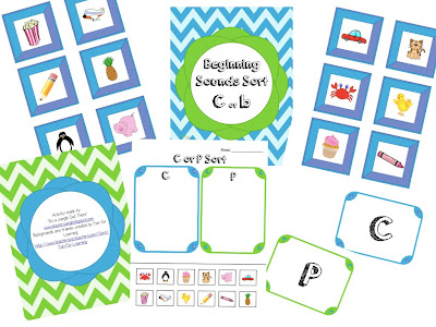 http://www.teacherspayteachers.com/Product/Beginning-Sounds-C-or-P-Sort-552266