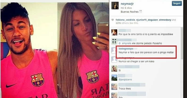 Fotos de neymar e sua nova namorada vazam na internet for Muralha e sua namorada