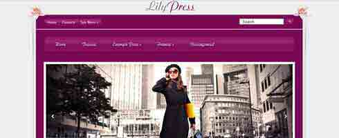 LilyPress theme