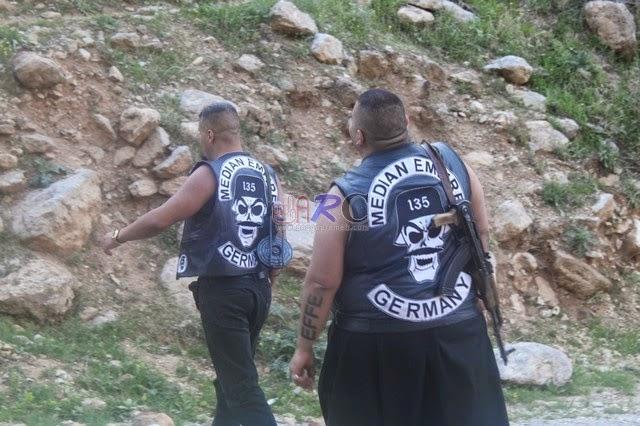 "Geng Motor Jerman ""Median Empire Motorcycle Club"" mengangkat senjata memerangi ISIS"