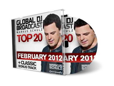 Cd Global DJ Broadcast Top 20 February 2012