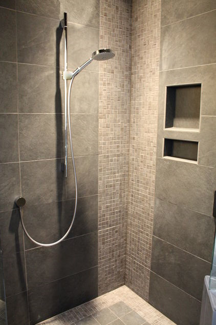Simplifying remodeling 14 great ways to design corners in for Contemporary bathroom tiles