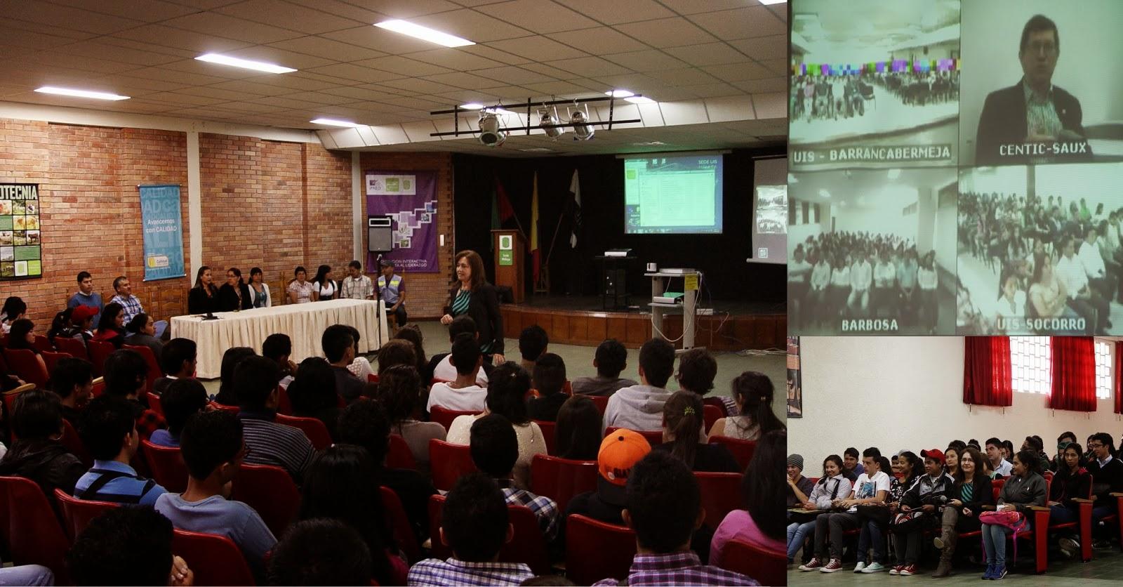 Sede uis m laga inducci n para estudiantes nuevos 2014 1 for Oficina ing malaga