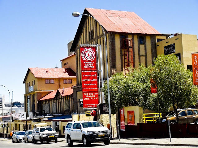 German Old Breweries Windhoek, Namibia