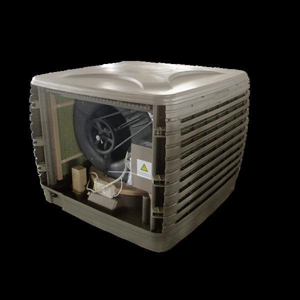 Evap Cooler Installation : Aolan evaporative air cooler how to install an