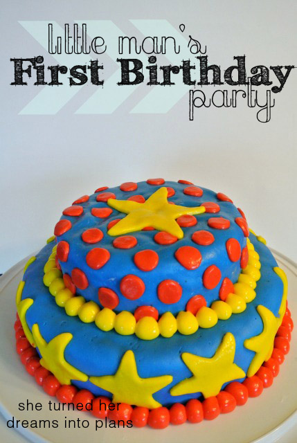A First Birthday Party!