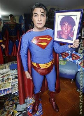 Bedah Wajah Jadi Superman
