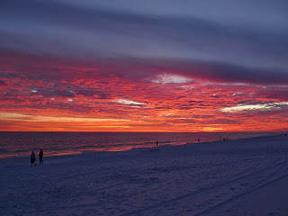 Destin Florida Beach Sunset Crab Island Fishing Trips