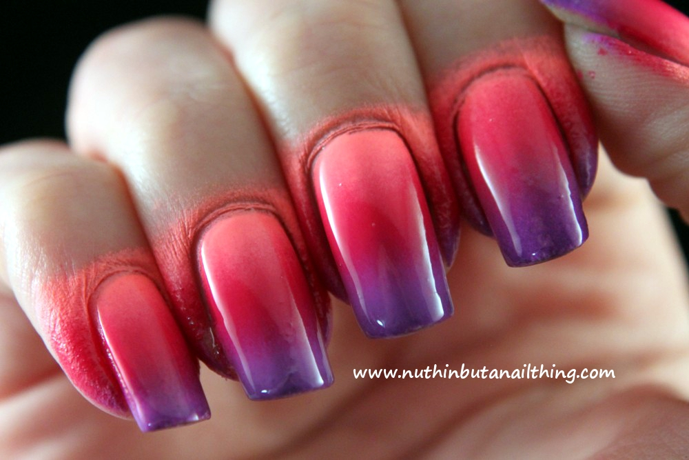 nuthin\' but a nail thing: Gradient Nails: Tutorial and Tips