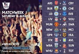 It's back, the Premier League (EPL) 2014/15