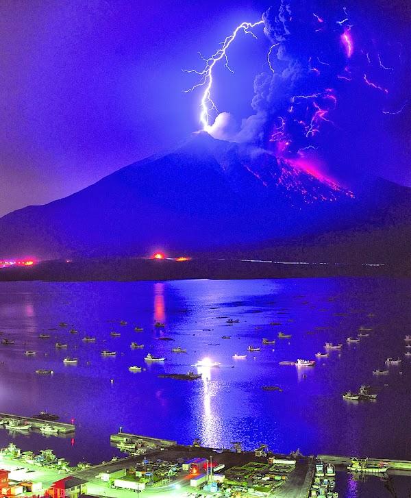 桜島』の噴火が凄い!観測された...