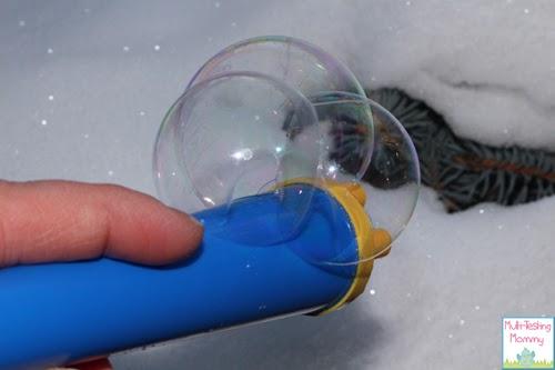 Outdoor Frozen Bubbles