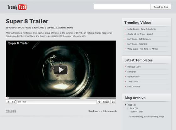 Youtube video blogger templates dangstars youtube video blogger templates maxwellsz