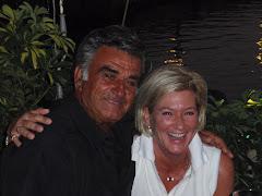 Annemarie met haar 'griek'