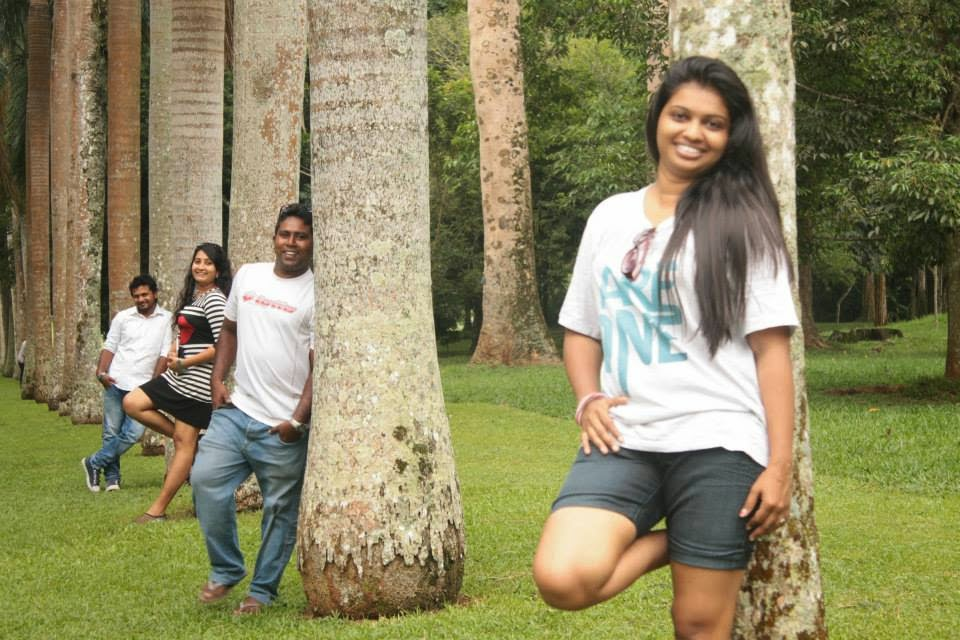 madhu at royal botanical gardens peradeniya