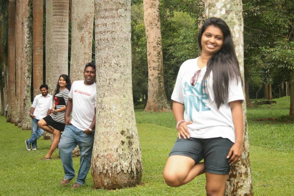 madhu at royal botanical gardens peradeniya