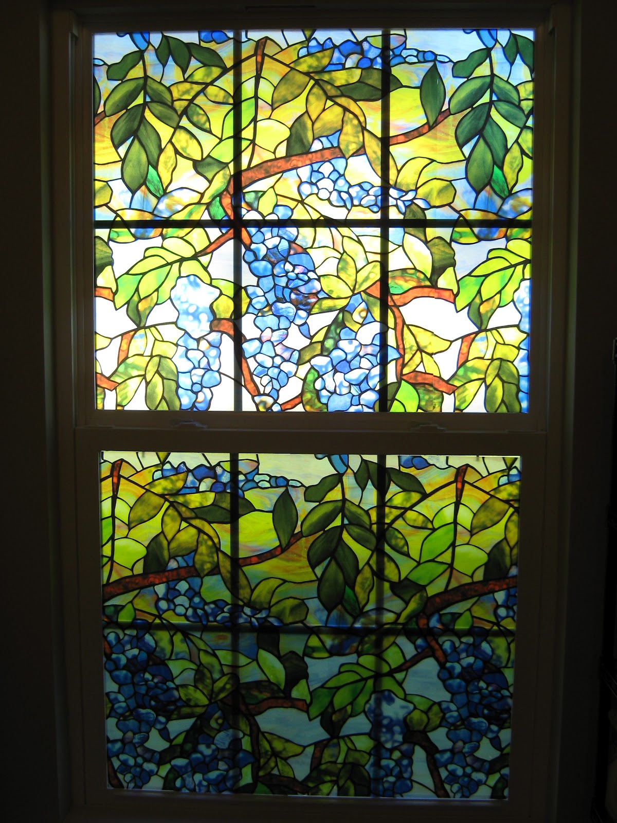 Fake-It FrugalFake Stained Glass Window