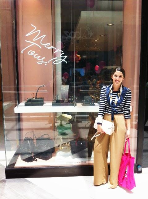 Pamela victoria uribe kuncar en lanzamiento tienda Tous  chile Concepción