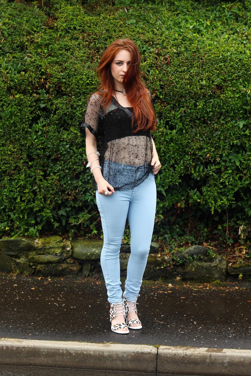 dr.denim, denim jeans, regal rose, asos, sequin top, senso rileys,