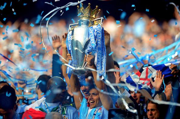 Manchester City Champion EPL 2012