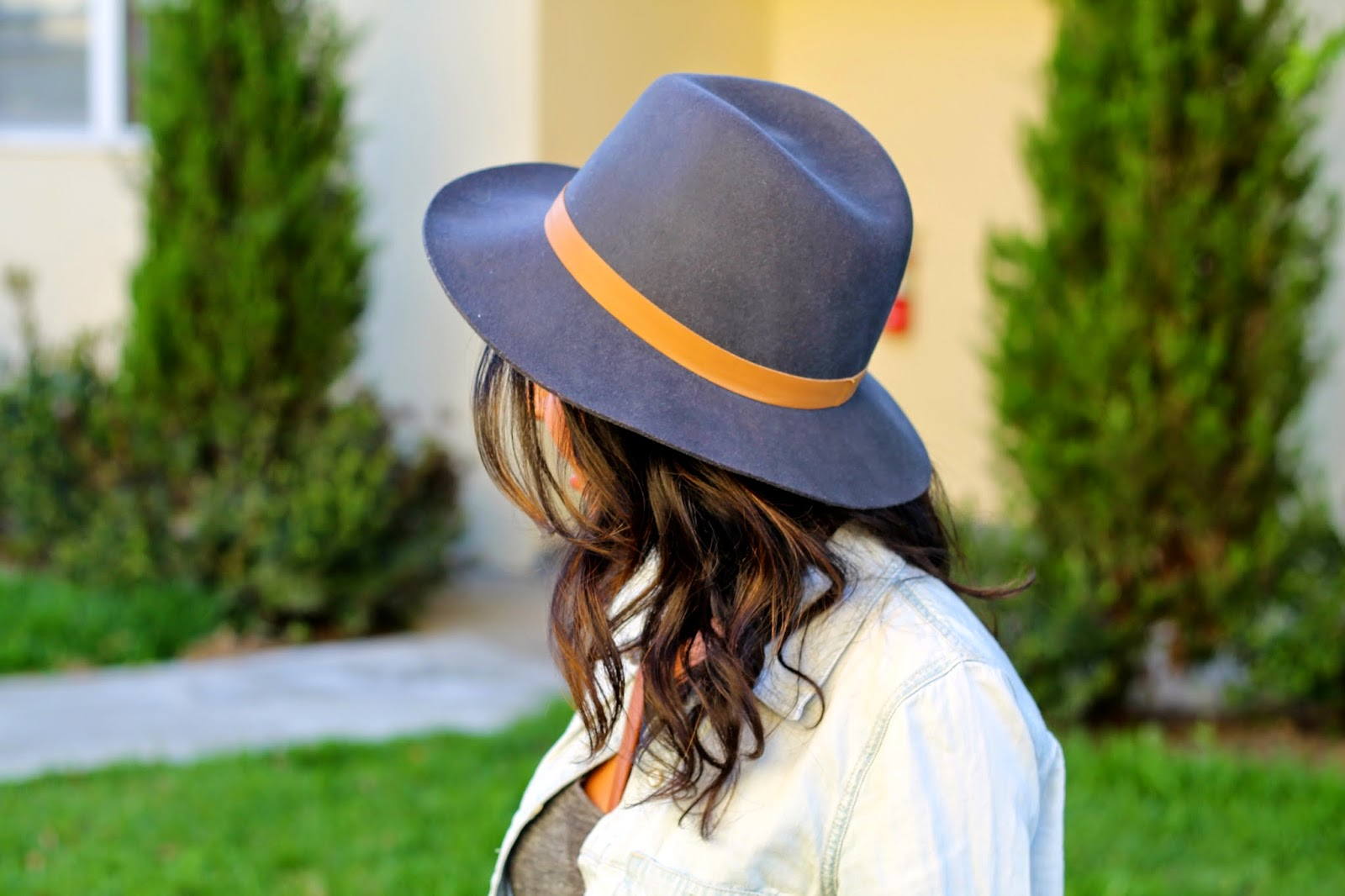 lulus fall outfit, janessa leona hat, fall style, leather