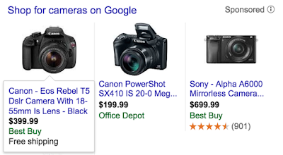 Google product listing ads: automatic extensions