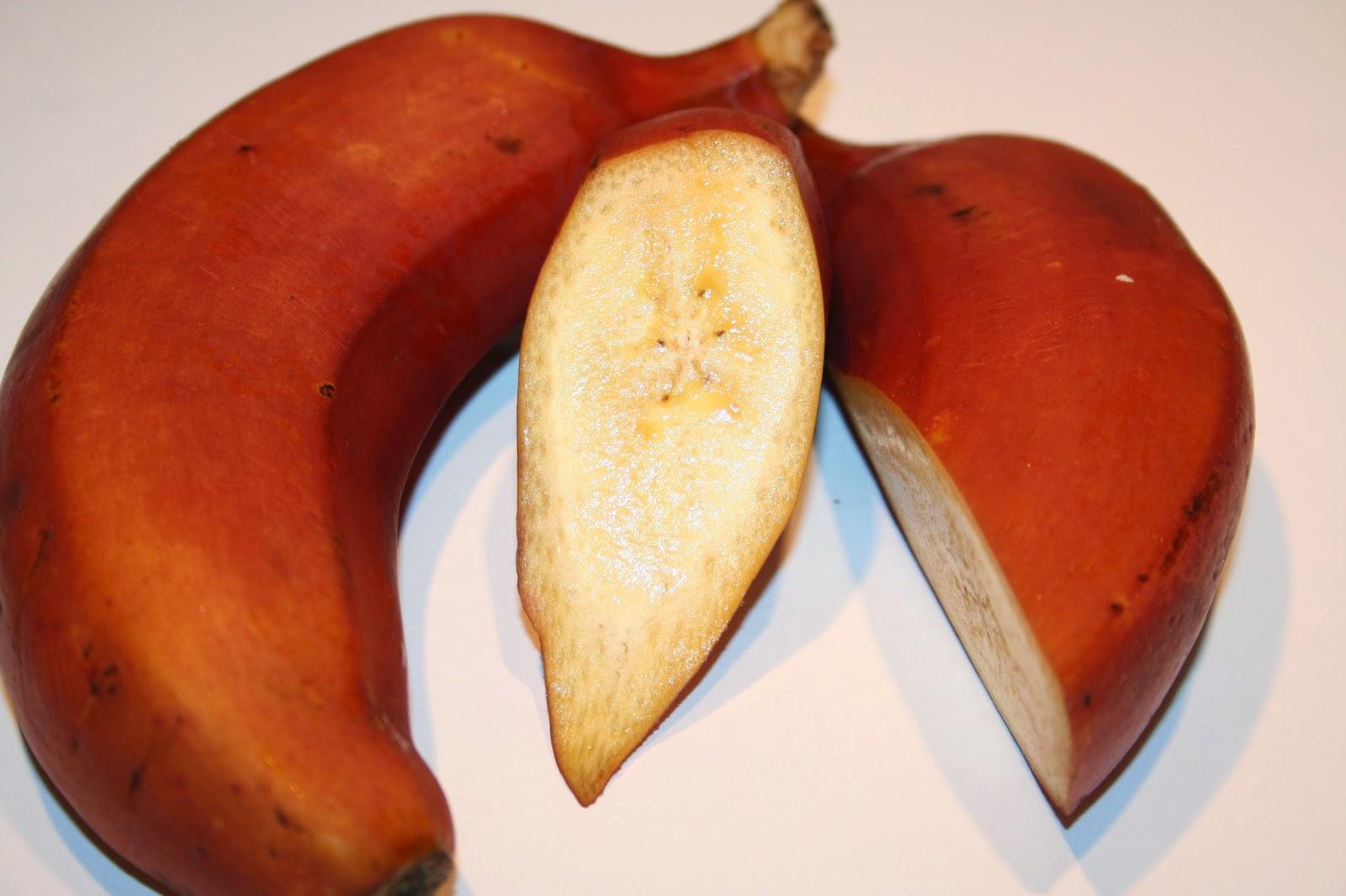 banany czerwone