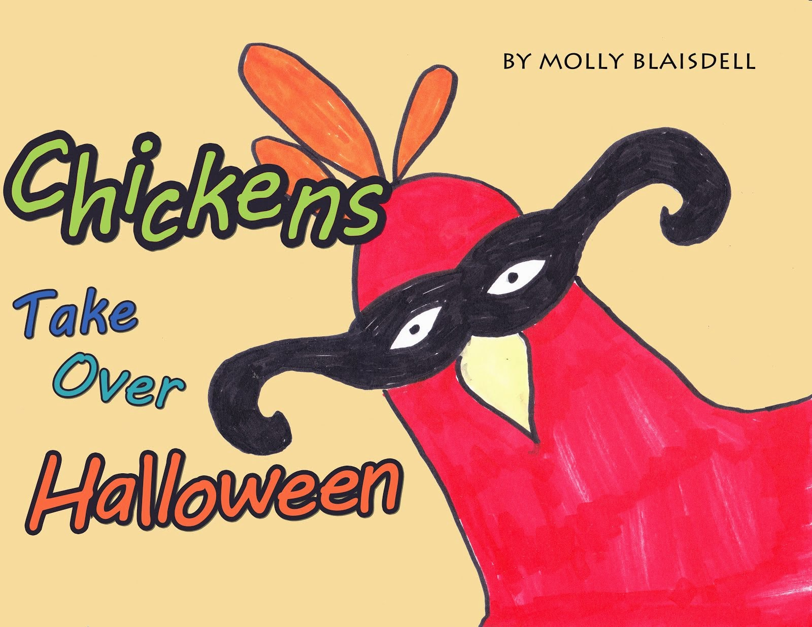 Chickens Take Over Halloween