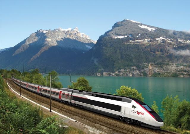 Viajar de trem de Paris a Londres