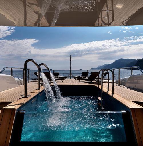 Belgian Dandy Mega Yacht SERENE True Decadence At The