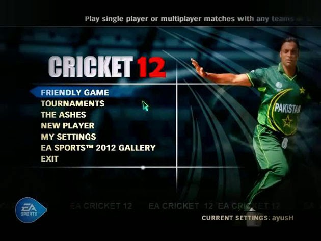 EA Sports Cricket 2012