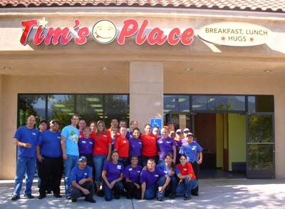 Tim's Place Opening Staff photo, from restaurant website