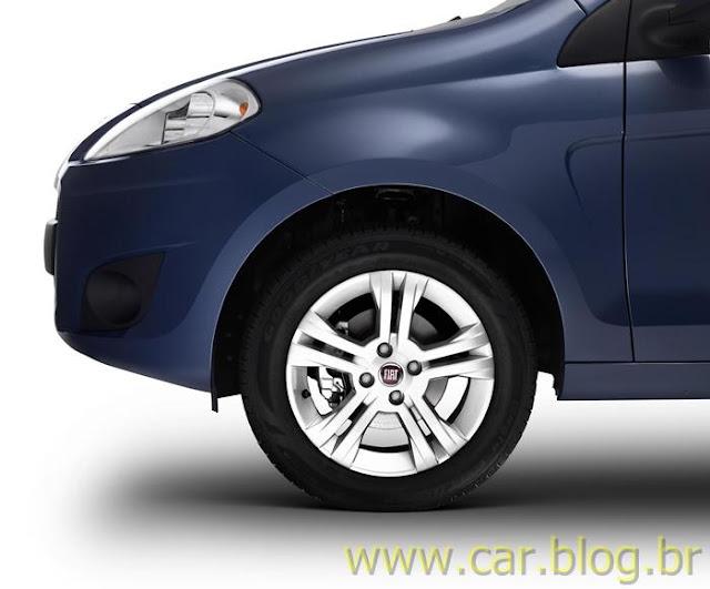 Novo Palio Attractive 1.4 2012 - rodas