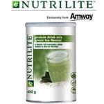 นิวทริไลท์™โปรตีน กรีนที(ชาเขียว) Nutrilite Protein Drink Mix Green Tea Flavour (Green Tea Protein)