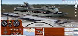 Jogo do Simulador ship atravez do google earth