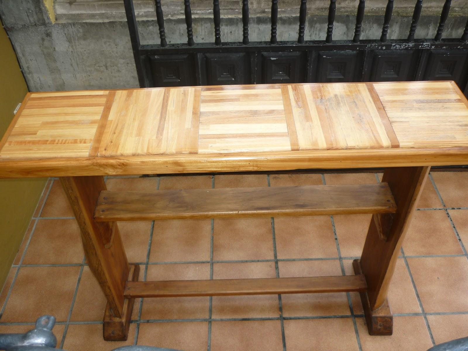 Mesones de madera for Mesones de madera