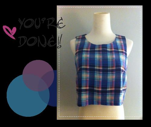 Free Sewing Pattern: Crop Top
