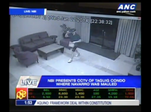 NBI Presents CCTV footage of Vhong Navarro Case