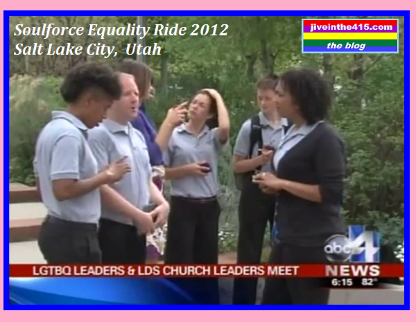 Soulforce Equality Riders 2012 Salt Lake City
