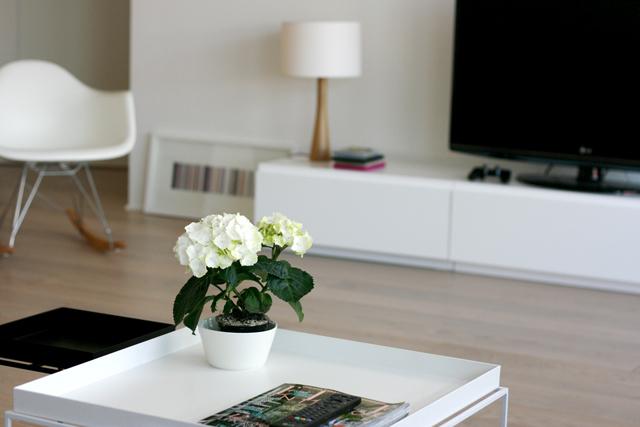 Uuden kodin sisustuskuvia  Valkoinen Harmaja