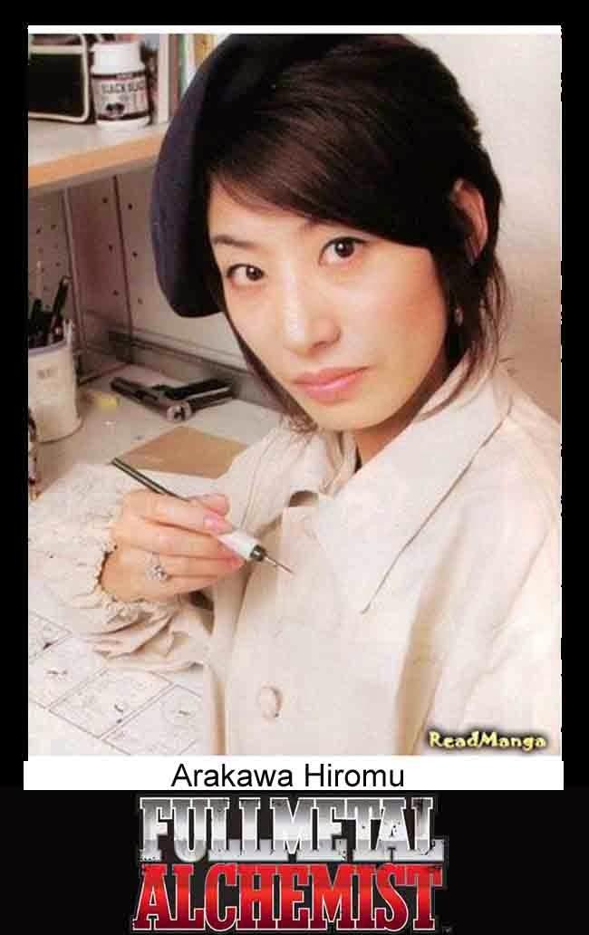foto Arakawa Hiromu, pengarang manga Fullmetal Alchemist