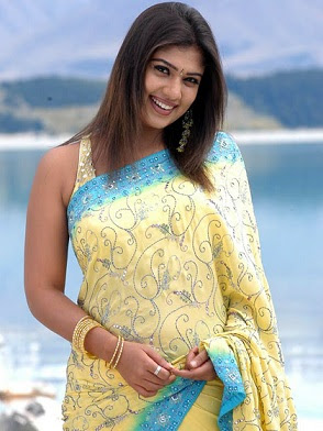 Nayanthara Latest Hot Saree Pictures