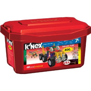 Amazon: K'Nex 400 Piece Value Tub Just $10.97 (Cheapest We've Seen It)