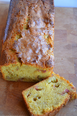 Rabarber gember cake.