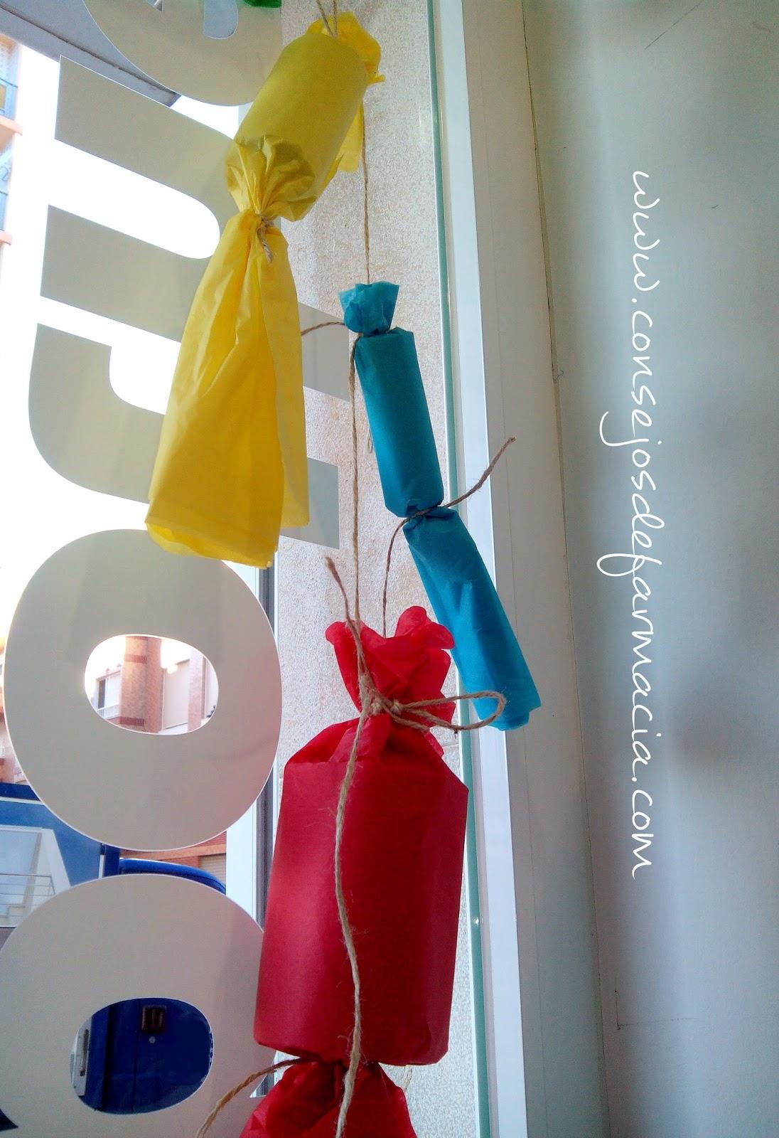 Escaparate Fallero #DIY #Fallas #Farmacia