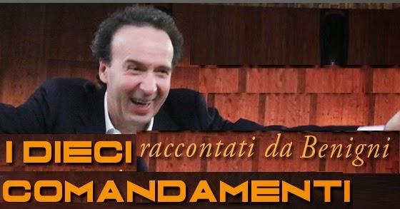 Roberto Benigni – I Dieci Comandamenti (2014)