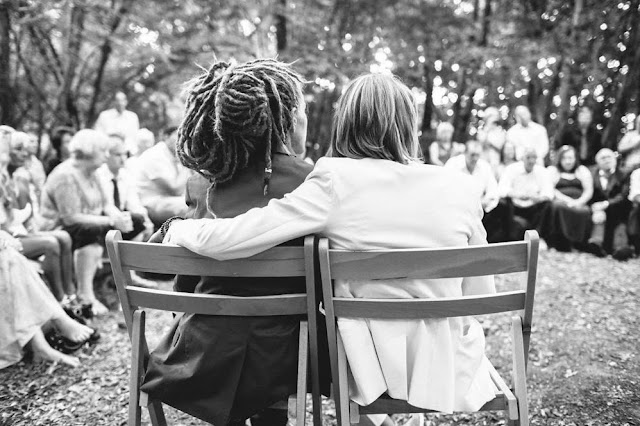boda eco bosque inglés lesbianas