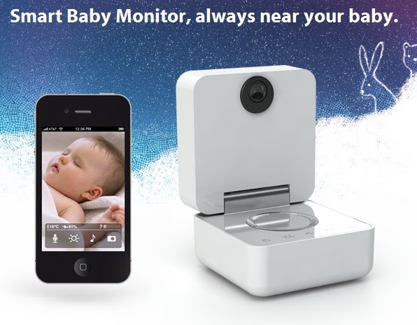 internet 39 s best secrets withings smart baby monitor. Black Bedroom Furniture Sets. Home Design Ideas