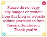 Copyright © Tamara Henderson